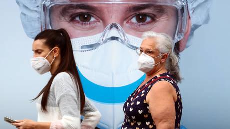 Madrid, Spain, September 18, 2020. © REUTERS/Sergio Perez
