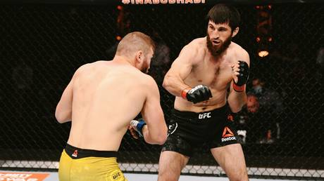 Left no doubt: Magomed Ankalaev scored a crushing knockout win at UFC 254