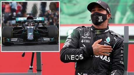 Record breaker: Lewis Hamilton claimed a record 92nd Formula 1 Grand Prix win in Portimao