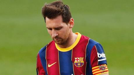 Off-form: Lionel Messi has struggled for goals lately