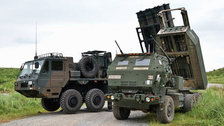 The Lockheed Martin M142 High Mobility Artillery Rocket System. ©AFLO via Global Look Press