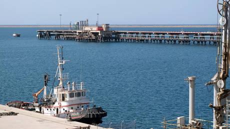 Ras Lanuf Port in Libya, August 18, 2020.  © Reuters / Esam Omran Al-Fetori