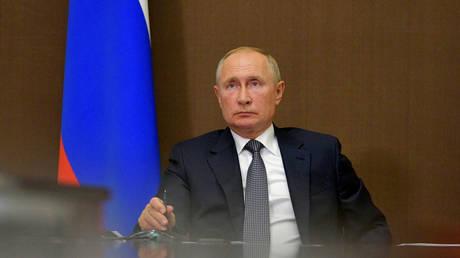 FILE PHOTO: Russian President Vladimir Putin. © Sputnik / Alexei Druzhinin / Kremlin via REUTERS