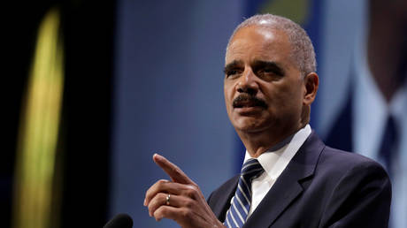 'It's too late to use the mails': Former Attorney General Eric Holder temporarily CENSORED by Twitter for urging in-person voting