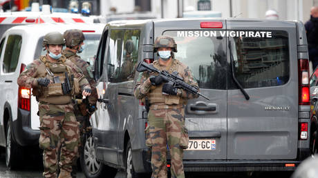 FILE PHOTO: French security forces