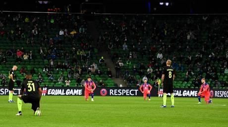 Chelsea and Krasnodar before their Champions League game. © Sputnik