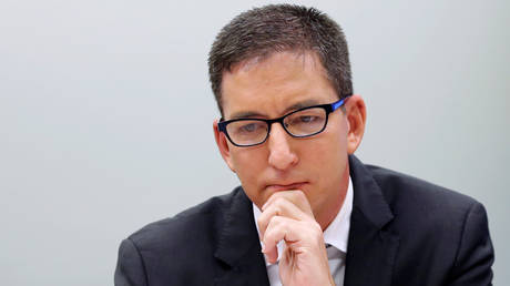 The Intercept co-founder Glenn Greenwald (June 25, 2019 file photo).