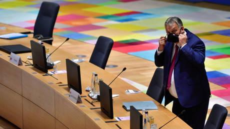 Hungary's PM Viktor Orban in Brussels, Belgium, October 2, 2020. © Reuters / John Thys / Pool