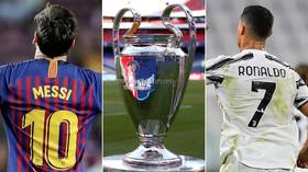 Rivals Reunited Lionel Messi And Cristiano Ronaldo To Resume Battle As Barcelona And Juventus Drawn Together In Champions League Rt Sport News