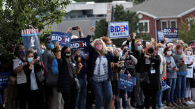 Biden & Dems slammed as hypocrites for resuming in-person canvassing despite criticizing Trump for doing so during Covid-19