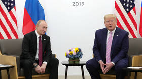 Putin says Trump's 'inherent vitality, vigor & optimism' will help him get through Covid-19, in personal message