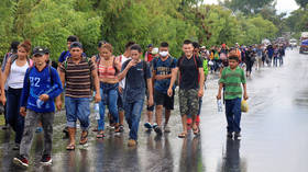 Guatemala vows to detain & send back caravan of illegal migrants heading to US