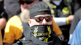 'Not interested in identity politics, not about skin color': Proud Boys leader tells RT group are just 'PRO-WESTERN' - not racist