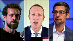 A bit too late? Senate committee to grill Google, Facebook & Twitter CEOs on 'domination & legal liability' days before election