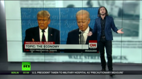 Controversy at the 1st debate, after RGB, big pharma price gouging