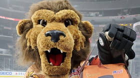 Bye bye Bailey: Man behind NHL lion mascot accused of SEXUAL MISCONDUCT is FIRED amid lawsuit for more than $1MN in damages
