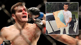 'Someone was FOLLOWING me': Misery for axed Russian UFC fighter as his luxury Lexus is STOLEN after return from Fight Island