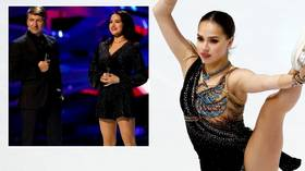 'Our pancake wasn't lumpy': Co-host slams criticism of figure skating queen Zagitova's 'dreary' start on Russian TV show 'Ice Age'