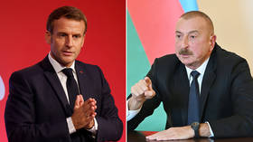 Azerbaijan demands apology from France over Macron claims of Syrian jihadists deployed to fight in Nagorno-Karabakh conflict
