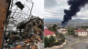 War enters second week: Armenia & Azerbaijan accuse each other of shelling cities & targeting civilians (VIDEOS)