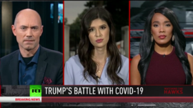 Trump fights Covid while Americans hope for new aid package