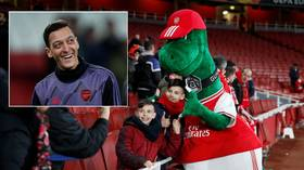 Arsenal outcast Mesut Ozil 'pockets £8 MILLION loyalty bonus'... despite not playing a single minute in SEVEN MONTHS