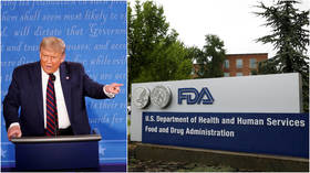 'Another political hit job!': Trump roasts FDA for stricter vaccine guidelines that dash chances of jab before election day