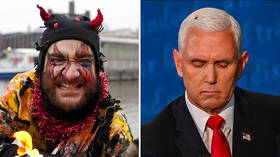 Fly on Mike Pence's head was 'mark of the DEVIL', Lincoln Project co-founder tells MSNBC viewers