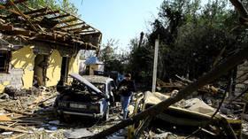 Armenia & Azerbaijan complain about 'intense' shelling & drone strikes shortly before Nagorno-Karabakh truce enters into force