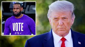 'Nasty' LeBron James labeled a 'hater' as President Donald Trump RANTS about NBA star