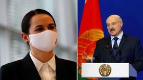 Eyebrows raised as Lukashenko claims he 'saved' opposition candidate Tikhanovskaya, giving her $15,000 before she left Belarus