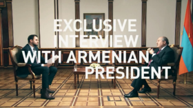 'We should not forget who started this stage of war': Armenian president points finger at Azerbaijan in exclusive RT interview