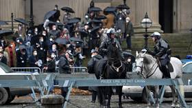 Party on, Wayne: Warner Bros 'Batman' continues filming in locked-down Liverpool, irritating locals