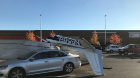Quick-thinking pilot somehow survives crash landing in parking lot, walks away after plane FLIPS onto car (VIDEO, PHOTOS)