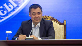 Kyrgyzstancompletes 'peaceful' transition of power as convicted kidnapper becomes acting president after being sprung from prison