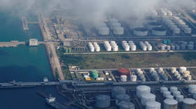 China's oil imports are falling as storage fills up
