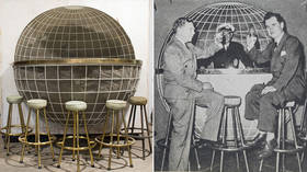 Megalomaniac's dream embodied? Globe-shaped bar from 'HITLER'S YACHT' up for grabs at auction (PHOTOS)