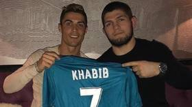 'Of course Khabib is going to win': Cristiano Ronaldo backs his 'brother' Khabib Nurmagomedov to defend title at UFC 254 (VIDEO)