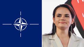Useful Idiot or Trojan Horse? Belarusian opposition figure Tikhanovskaya's links to NATO's Atlantic Council adjunct raise eyebrows