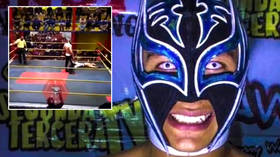'What a tragedy': WWE stars SHOCKED as Mexican wrestler DIES in ring at 26 after collapsing in front of horrified opponent (VIDEO)