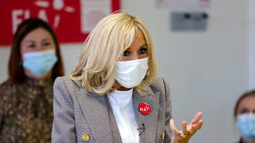 Covid-19 contact forces French First Lady Brigitte Macron to self-isolate, as infections in France hit record high