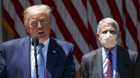 'Bad arm!' Trump blasts 'disaster' Fauci in campaign call, slams doctor's baseball pitching