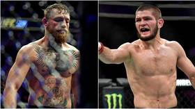 'I'm going to make the decision': Khabib says McGregor MUST face Poirier at lightweight to stand any chance of rematch