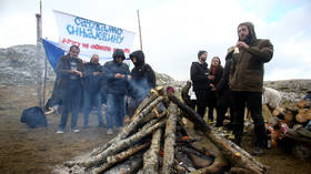 Montenegro's farmers & environmental protesters ruin army's plans for mortar shelling exercises