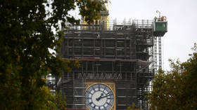 Activist scales scaffolding on London's Big Ben, unfurls anti-lockdown banner (PHOTO)