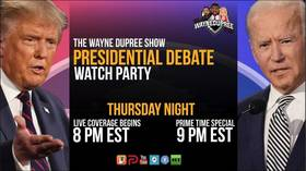 Wayne Dupree Show: Second presidential debate of 2020 election