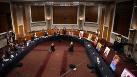 Senate Judiciary Committee approves Amy Coney Barrett Supreme Court nomination despite Democrats' boycott