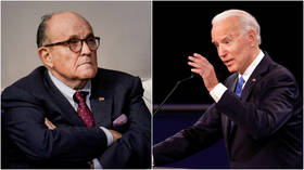 Biden calls Rudy Giuliani 'Russian pawn' as he & Trump accuse each other of taking over foreign money in debate