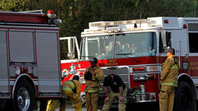 Two crew dead as US Navy aircraft crashes into Alabama home, sparking fire (VIDEO)