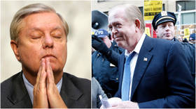 'Who would ever vote for him?' Never-Trumpers & Dems cheer after Fox host Lou Dobbs rips Sen. Lindsey Graham for Trump 'betrayal'